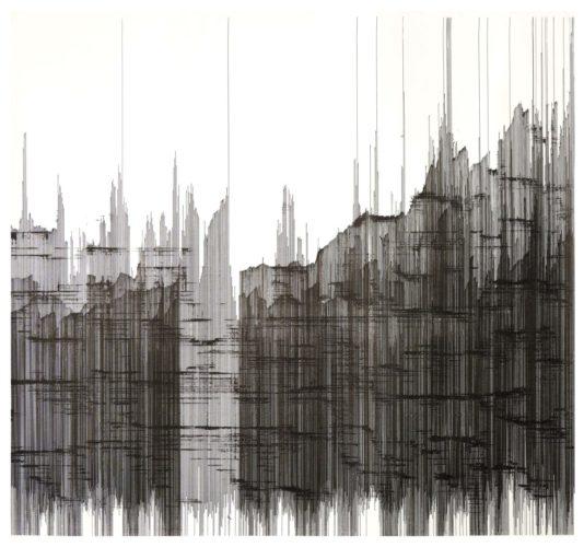 Op. 060119B. ink on paper, 107 x 97 cm, 2019