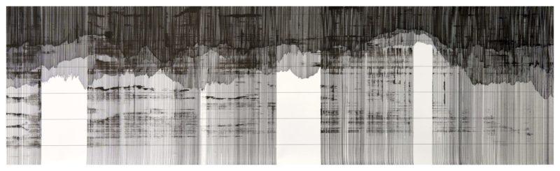 Op.090119 ink on paper, 67x150cm