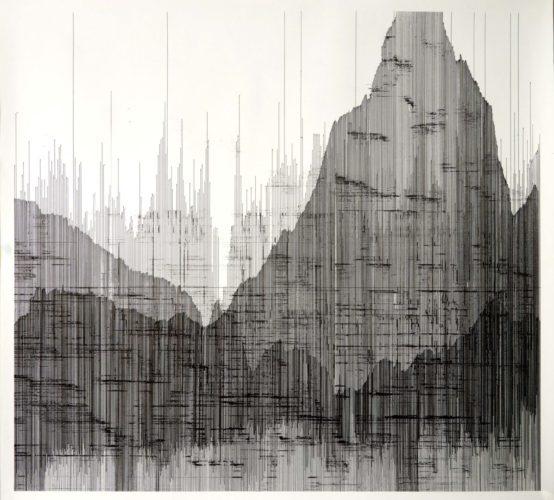Op. 110819. ink on paper 100 x 108 cm, 2019
