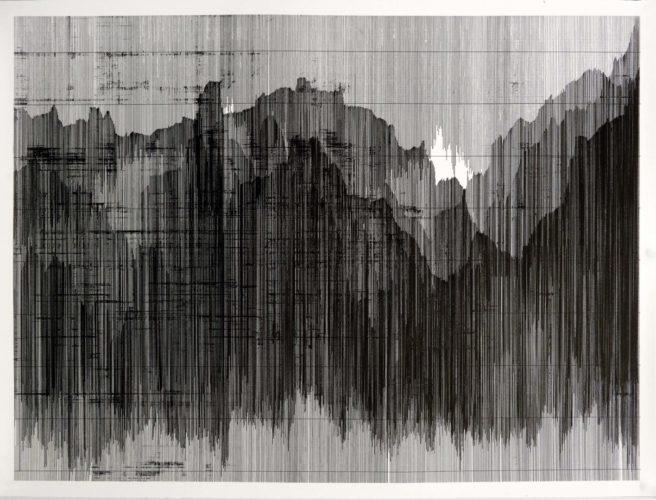 Op. 120519. ink on paper, 95 x 126 cm, 2019