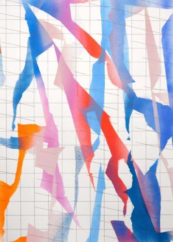 Op.121119. acrylic on paper, 105x75cm