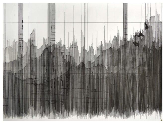 Op. 150519B. ink on paper, 95 x 131 cm, 2019