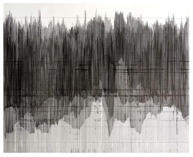 Op. 190519. ink on paper, 100 x 126 cm, 2019