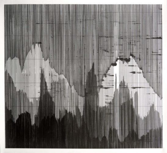 Op. 230619. ink on paper, 100 x 120 cm, 2019