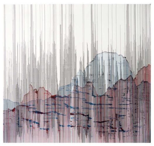 Op. 260519. ink on paper, 107 x 100 cm, 2019