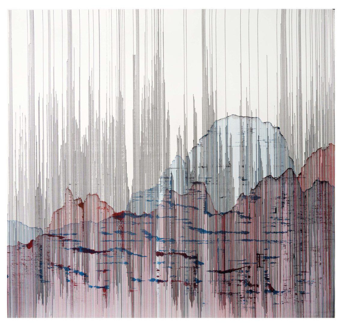 Op.260519 ink on paper, 107x100cm