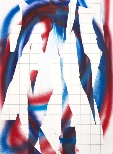 Op.271019. Acrylic on paper, 75 x 50 cm, 2019