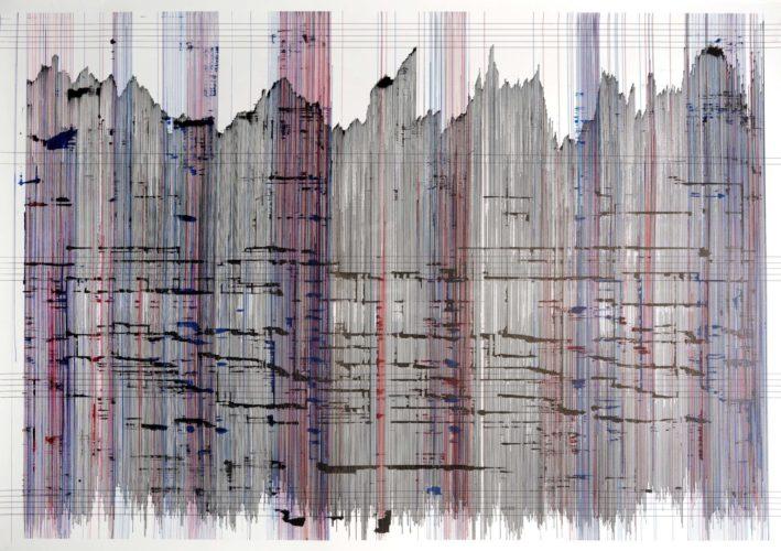 Op. 300719. ink on paper 95 x 136 cm, 2019