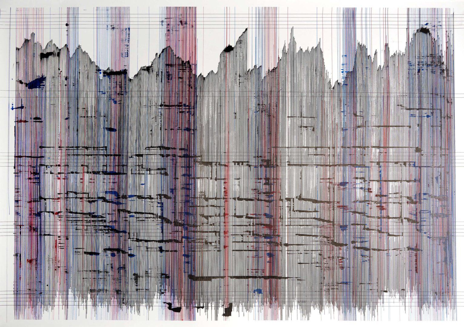 Op.300719. ink on paper. 95x136cm