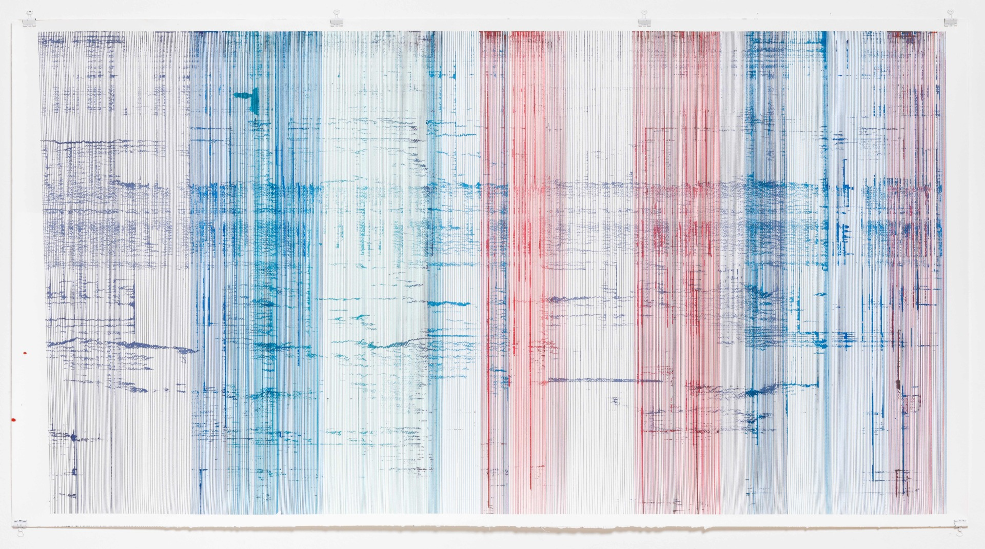 Op.116. ink on paper, 80x150 cm, 2016