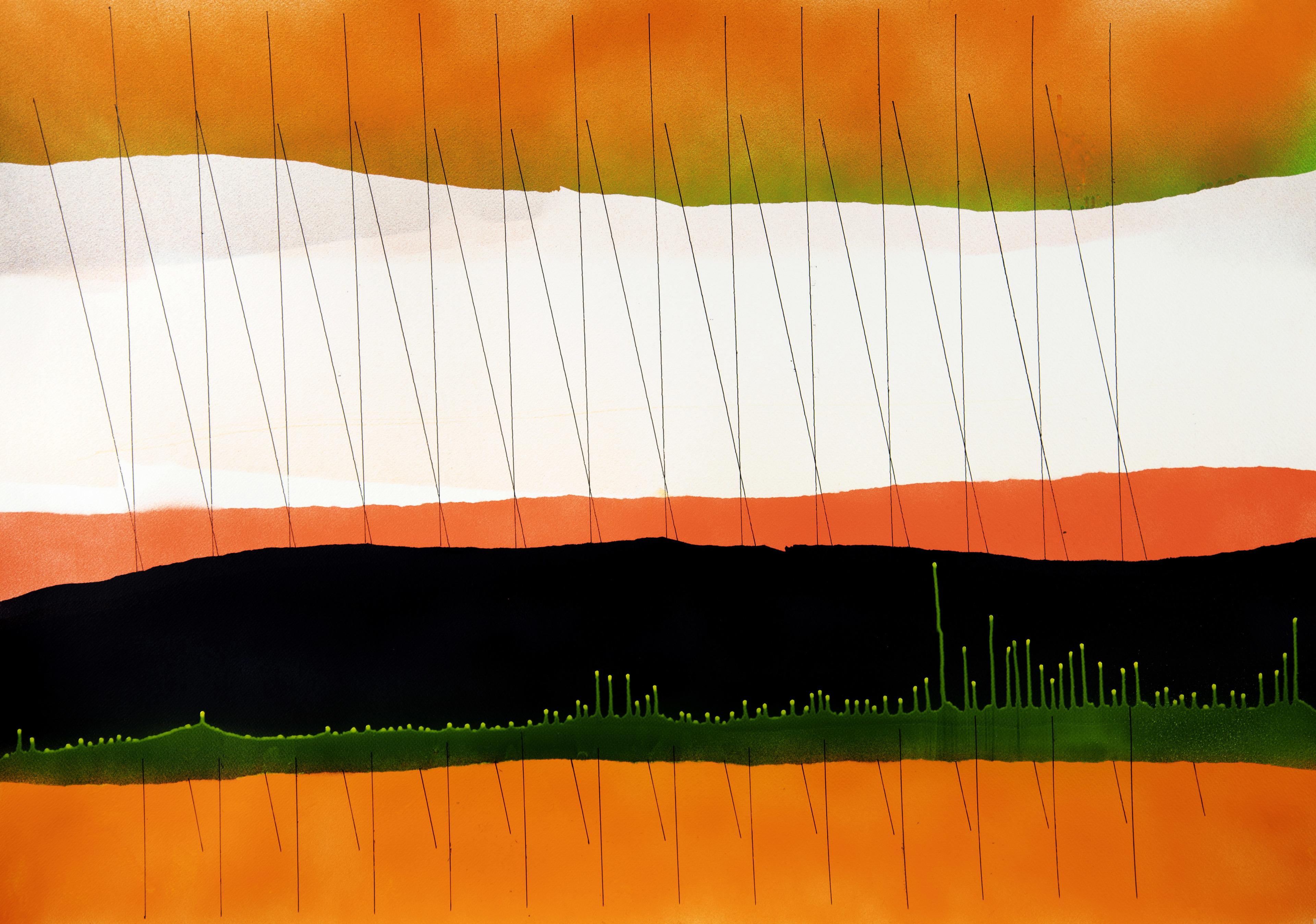 op140320. acrylic on paper 75x105cm