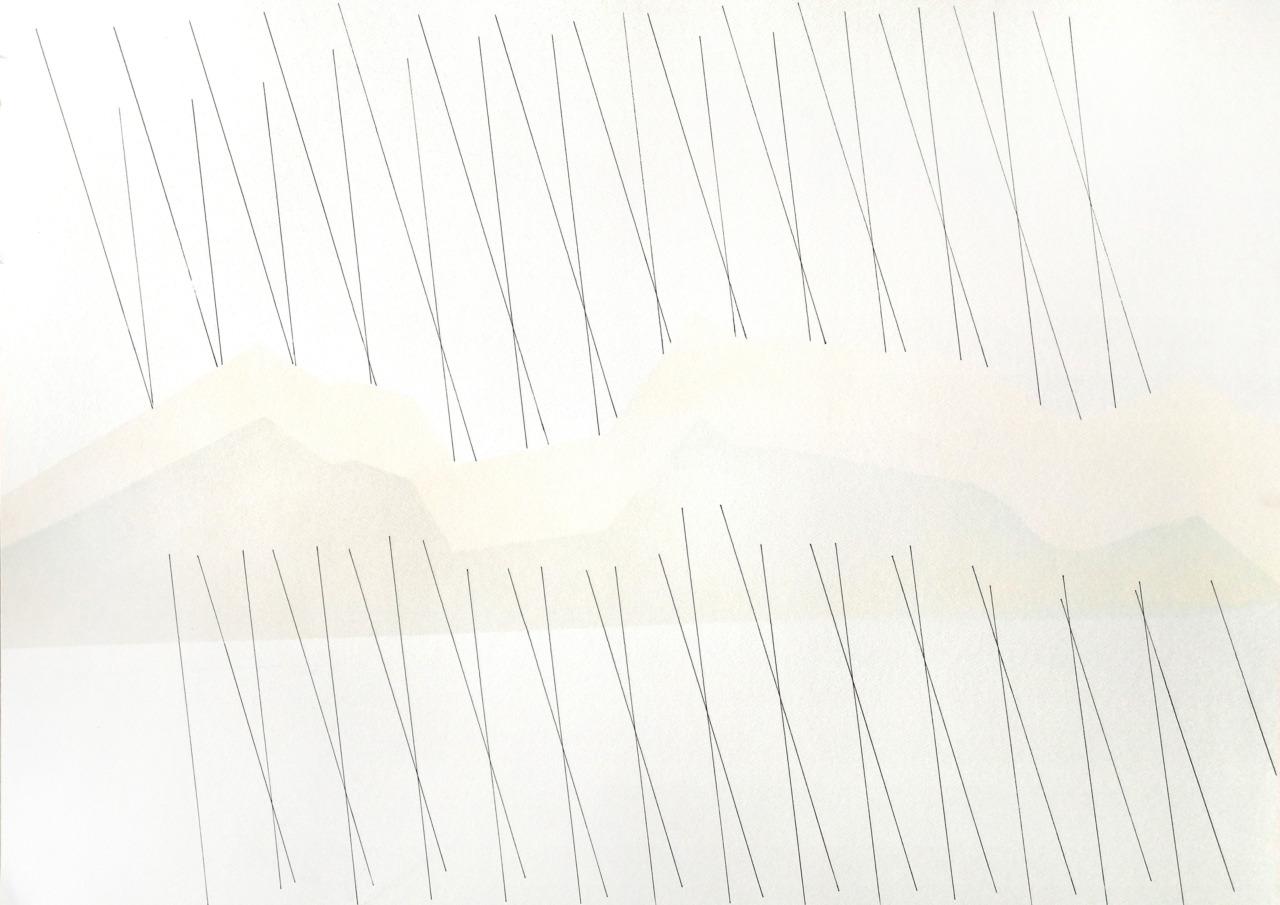 op020420. acrylic on paper 75x105cm