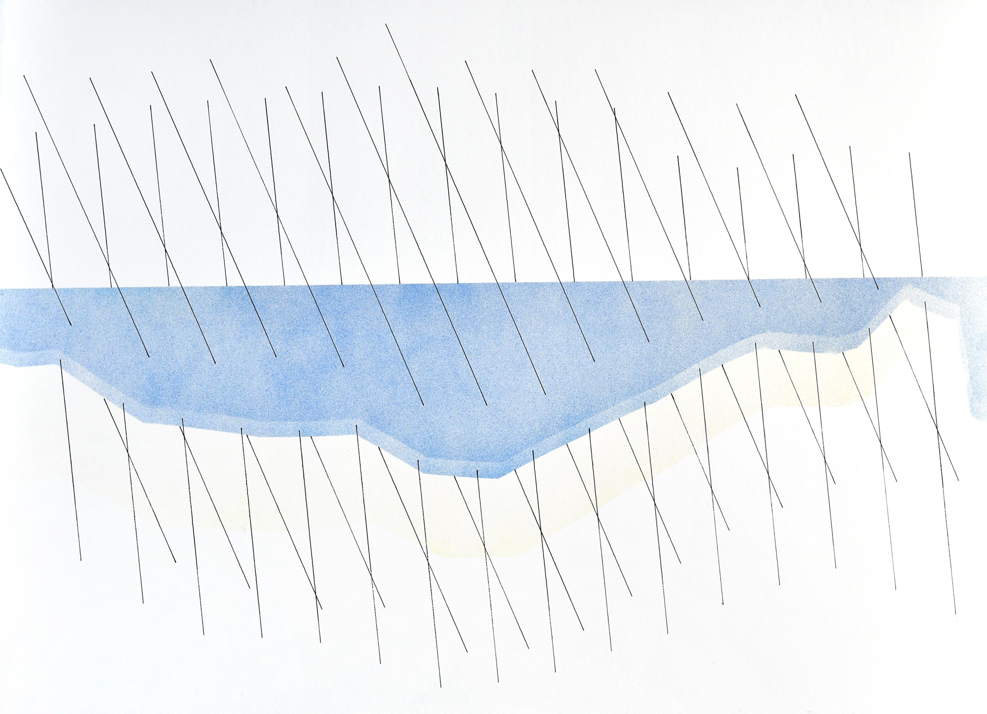 op040420 acrylic on paper, 75x105cm