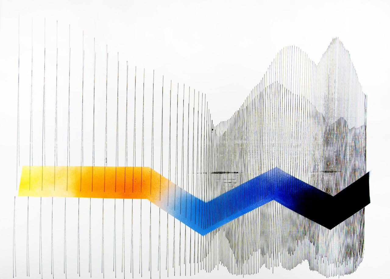 op230420. acrylic on paper, 75x150cm_w
