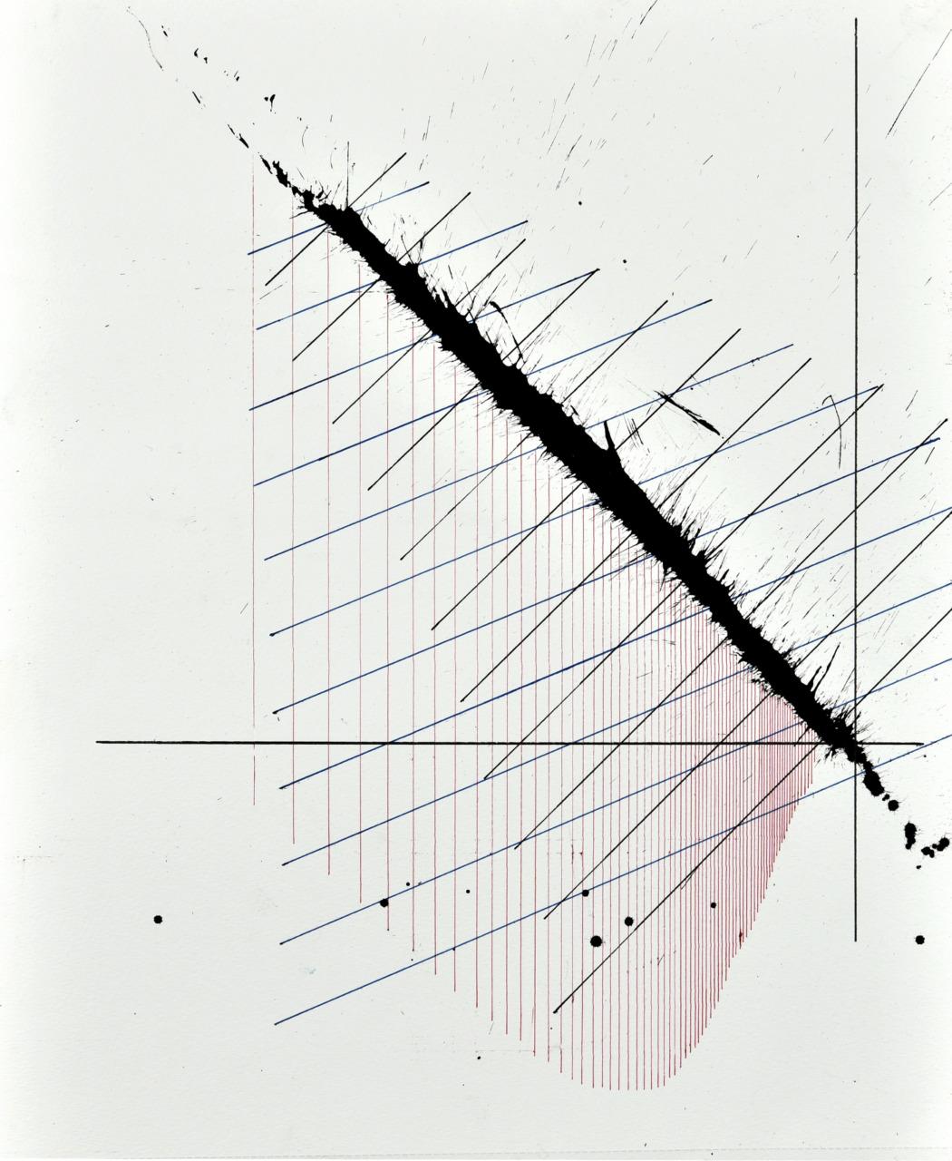 Op250520. Acrylic on paper, 37x46cm