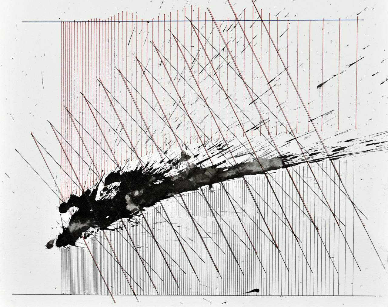op130520. acrylic on paper, 40x50cm