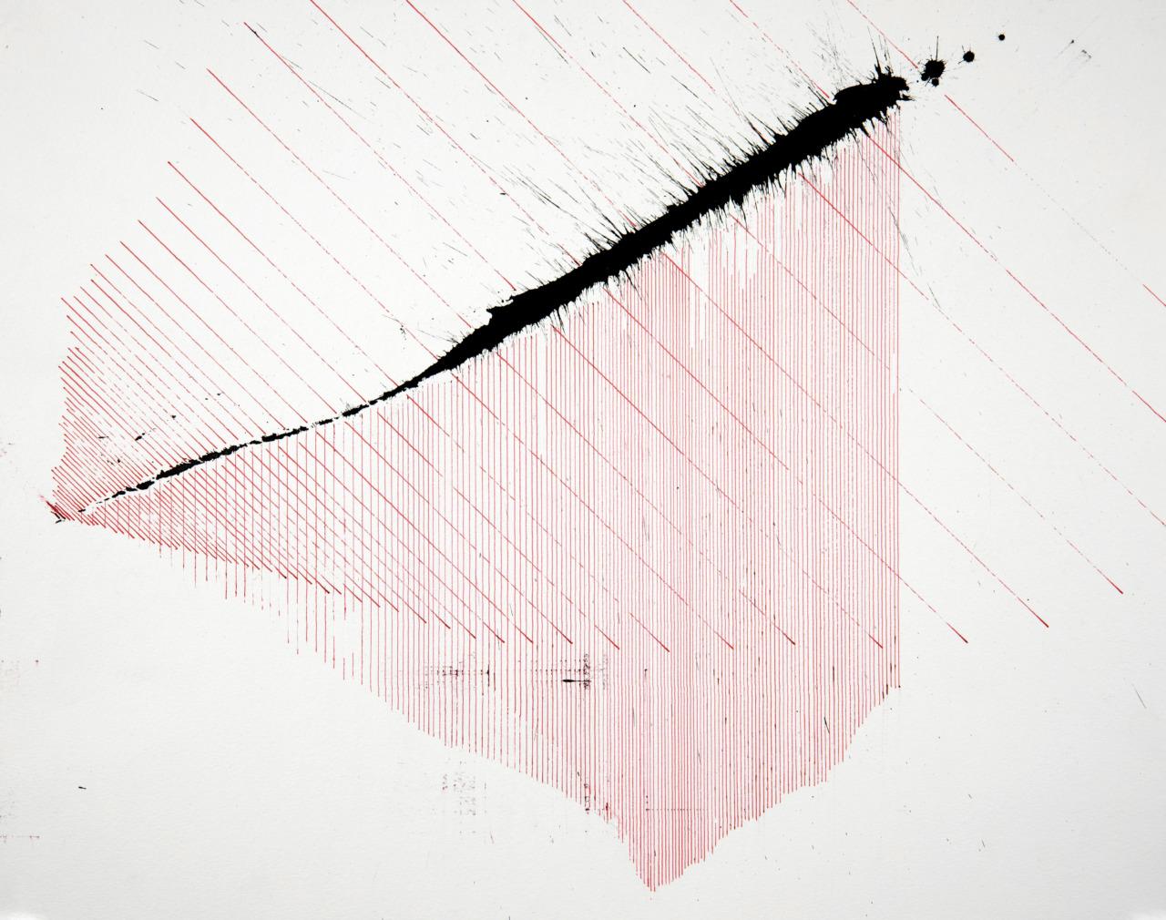 op160520. acrylic on paper, 40x50cm