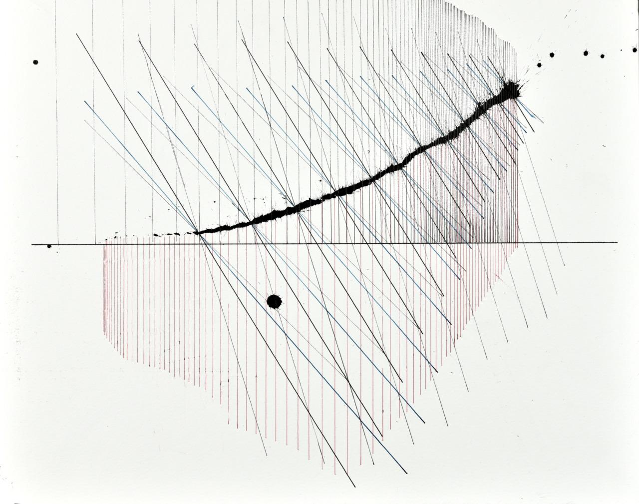 op200520. acrylic on paper, 40x50cm