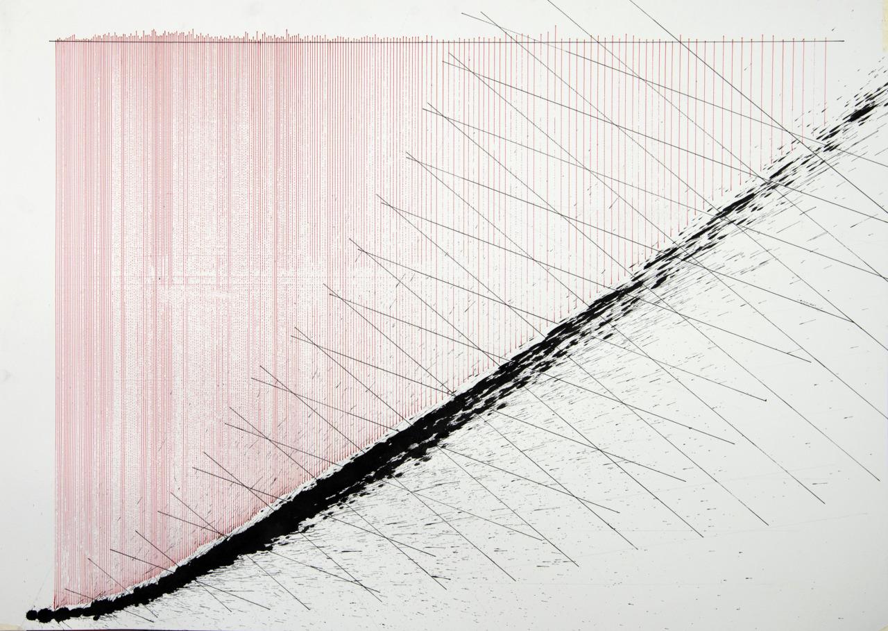 op230520. acrylic on paper, 75x105cm