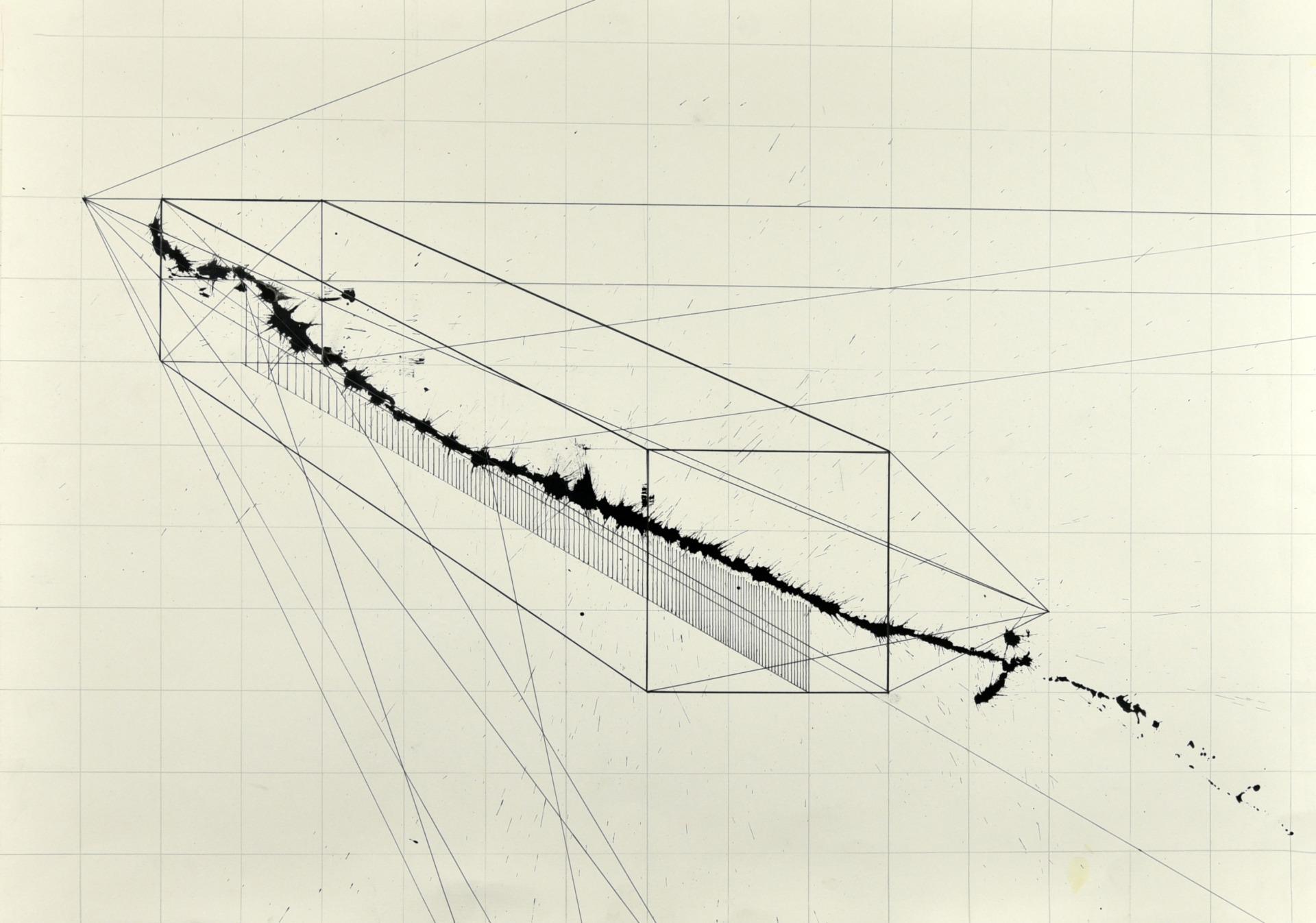 Gyula Sagi's art. Contemporary art, gesture art, geometric art.