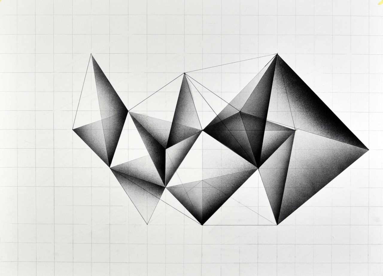Gyula Sagi contemporary art, prisma, crystals