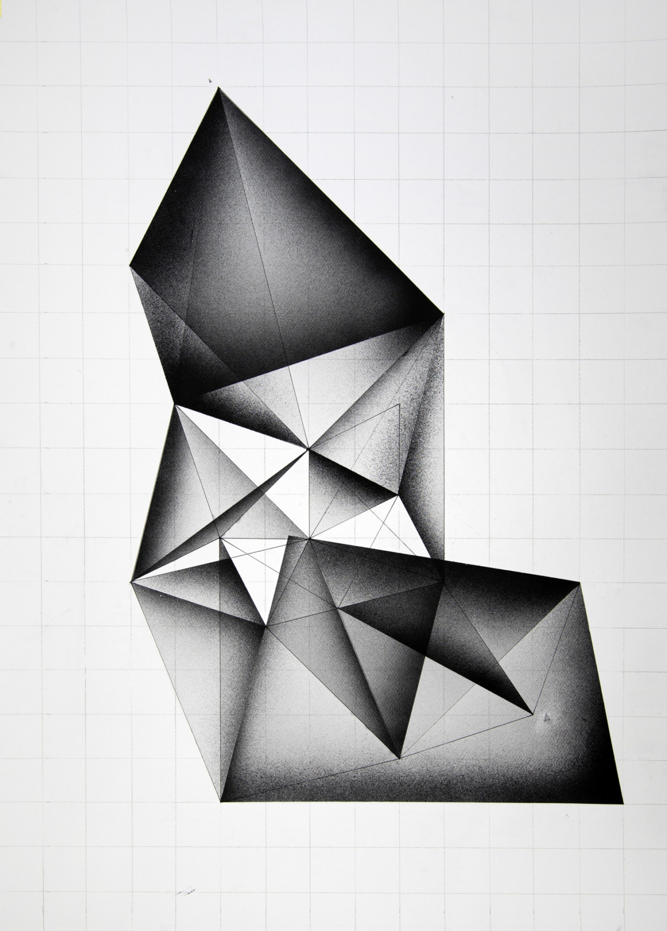 Gyula Sagi, contemporary art, crystals geometric art