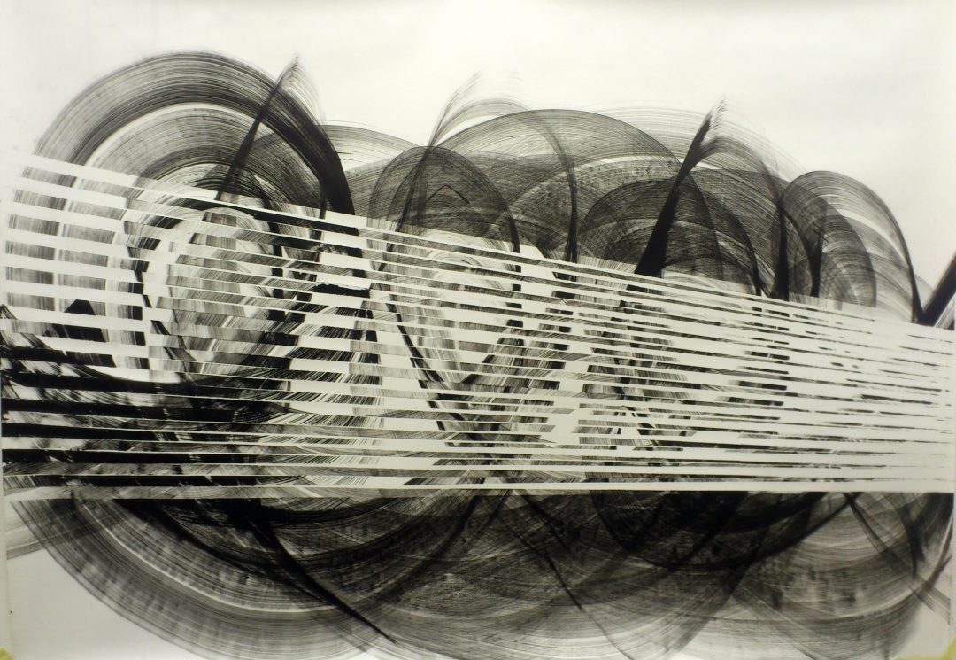 Op. 23. 120x150cm ink on paper