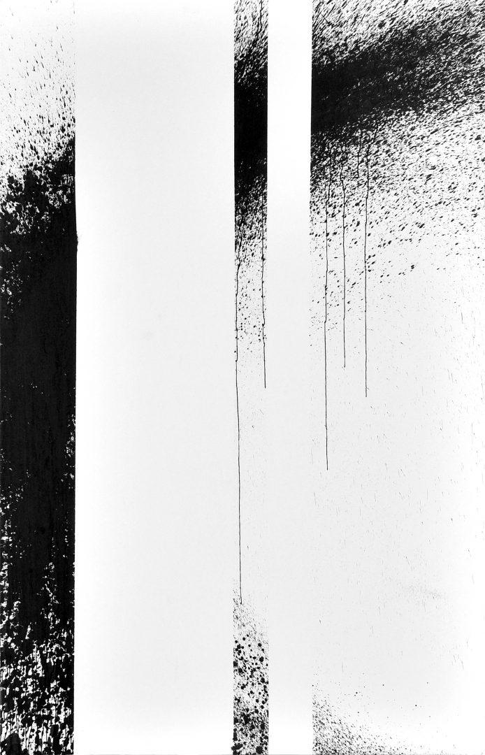 Op. 29. 210x120 cm, ink on paper