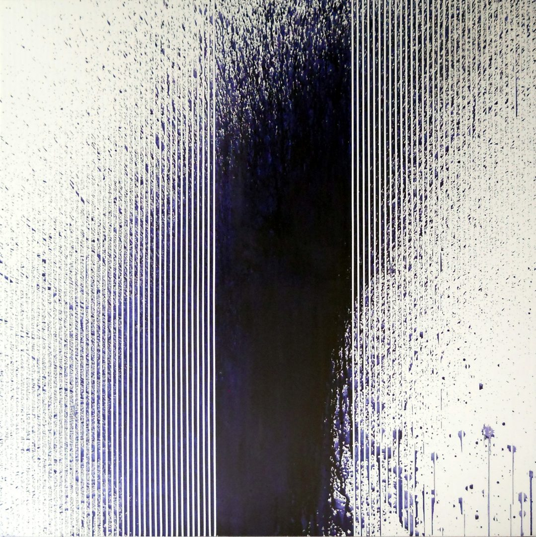 Op. 48. 100x100cm ink on canvas, SOLD