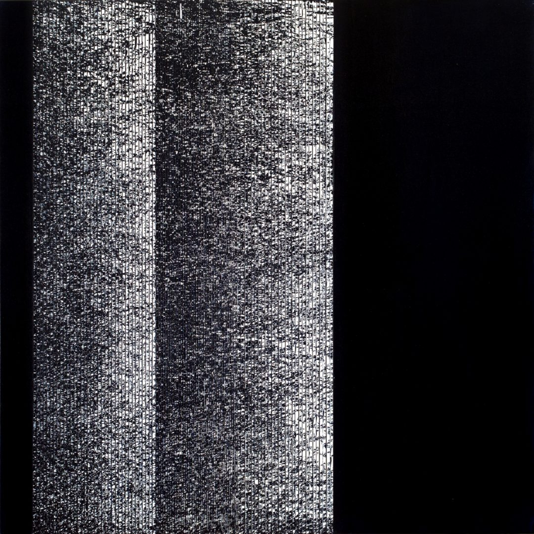 Op. 71. ink on canvas, 100x100cm