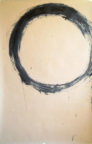 Op. 16. ink on paper, 100x160cm