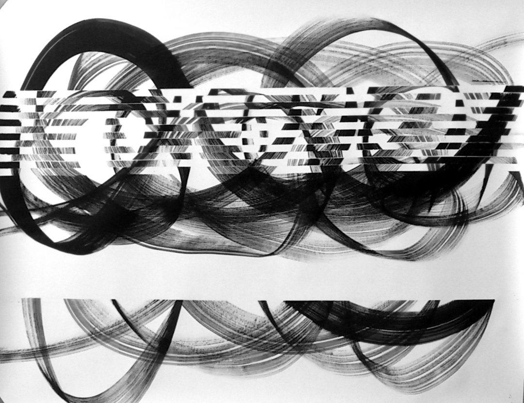 Op. 11. 110x140cm, ink on paper