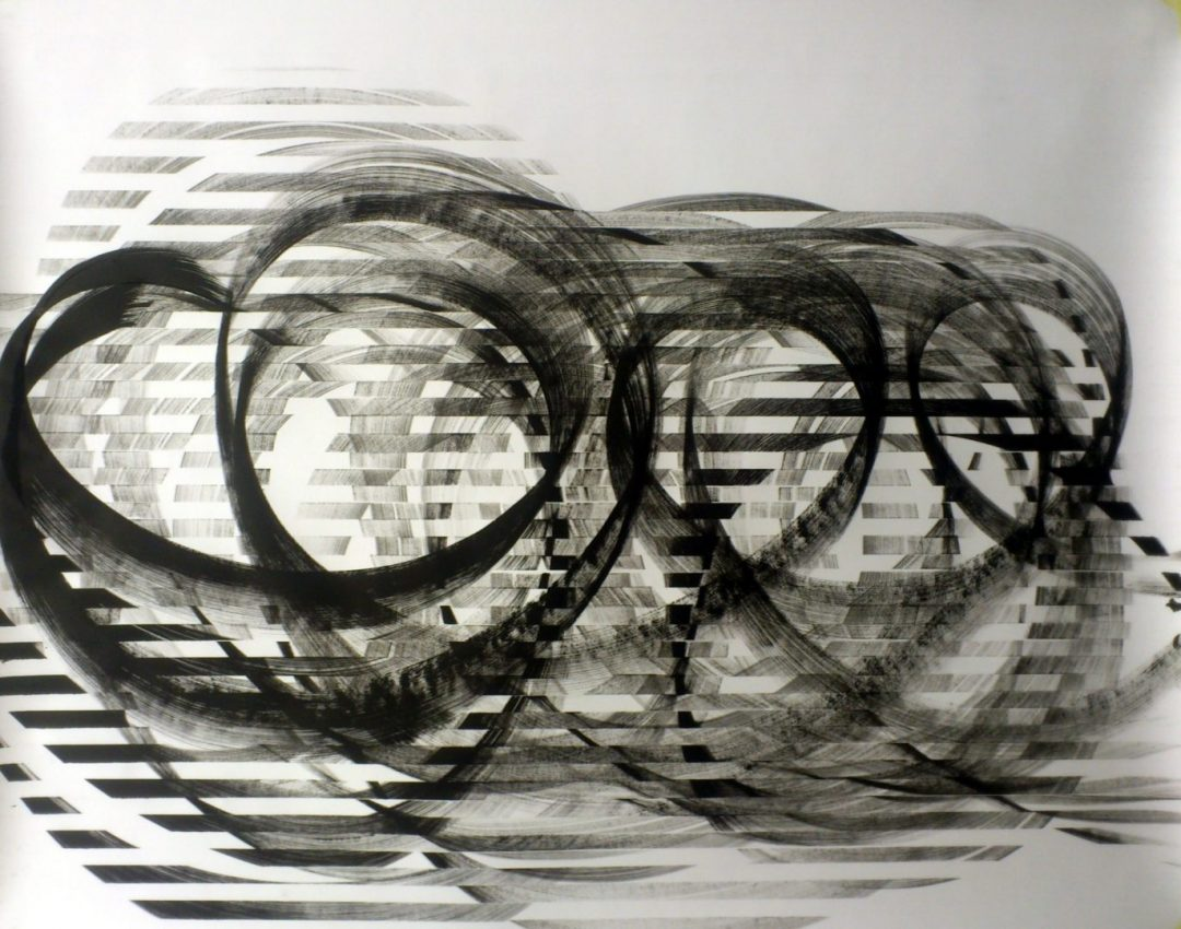 Op. 15. 110x138cm, ink on paper, SOLD