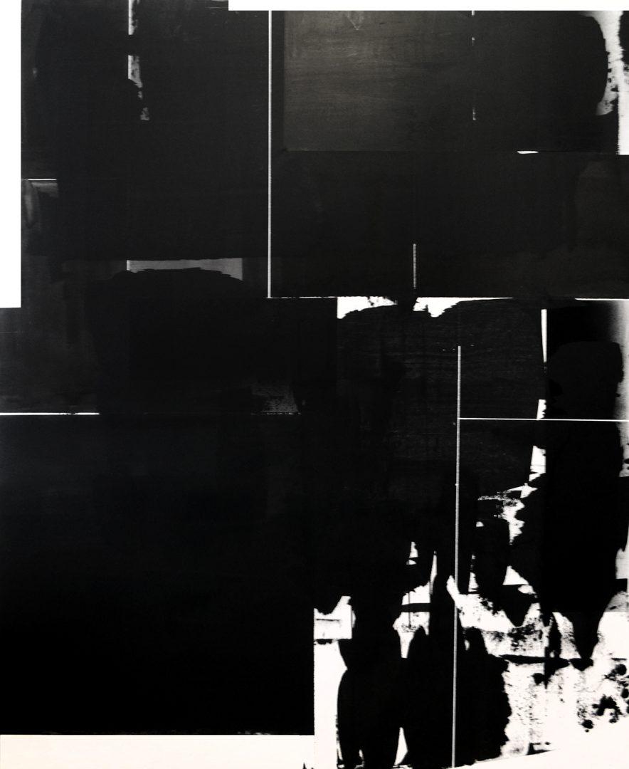 Op. 100118. acrylic on canvas, 160 x 130 cm, 2018