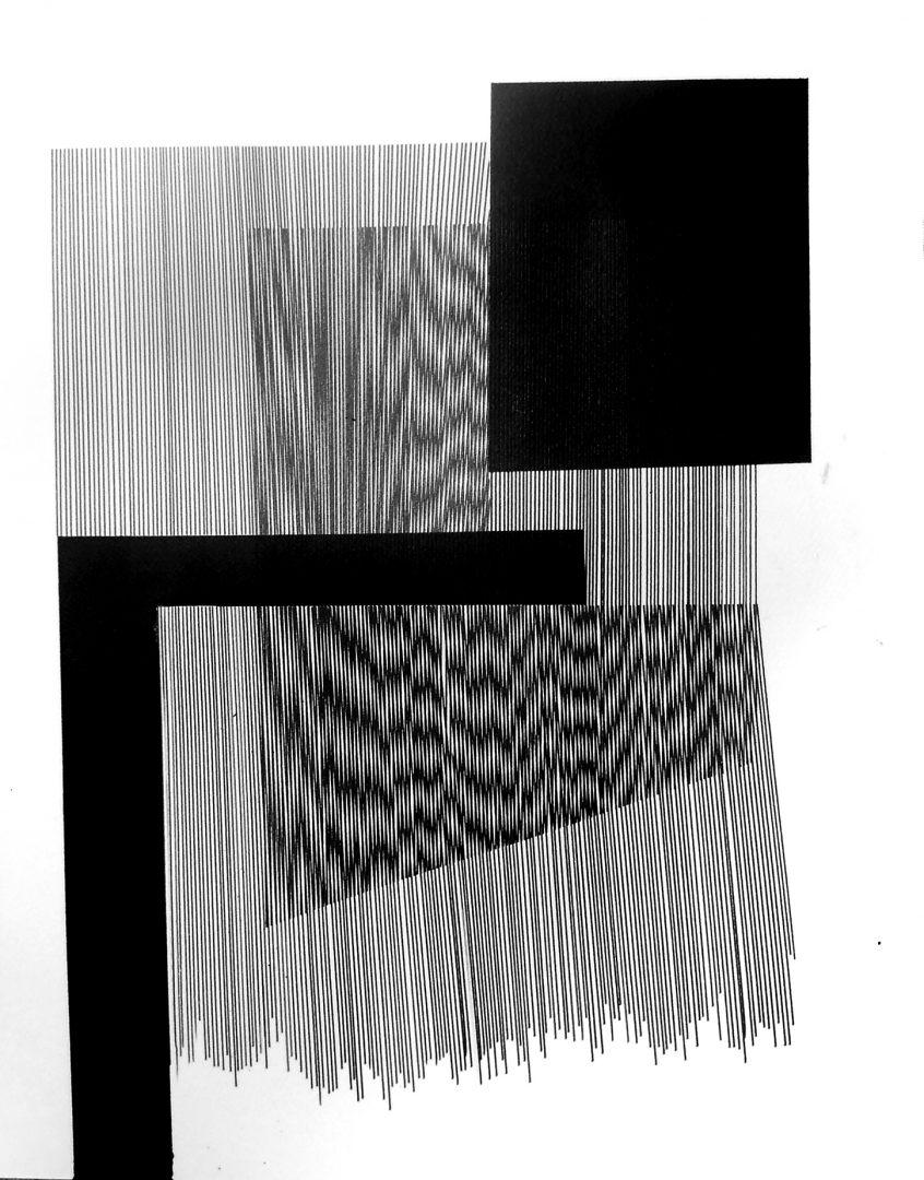Op.173. ink on paper, 50x40cm