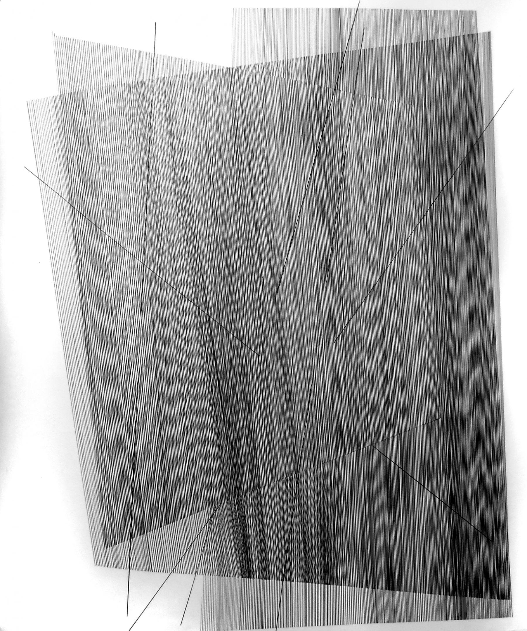 Op. 168. ink on paper, 140x200cm, 2017 - sold