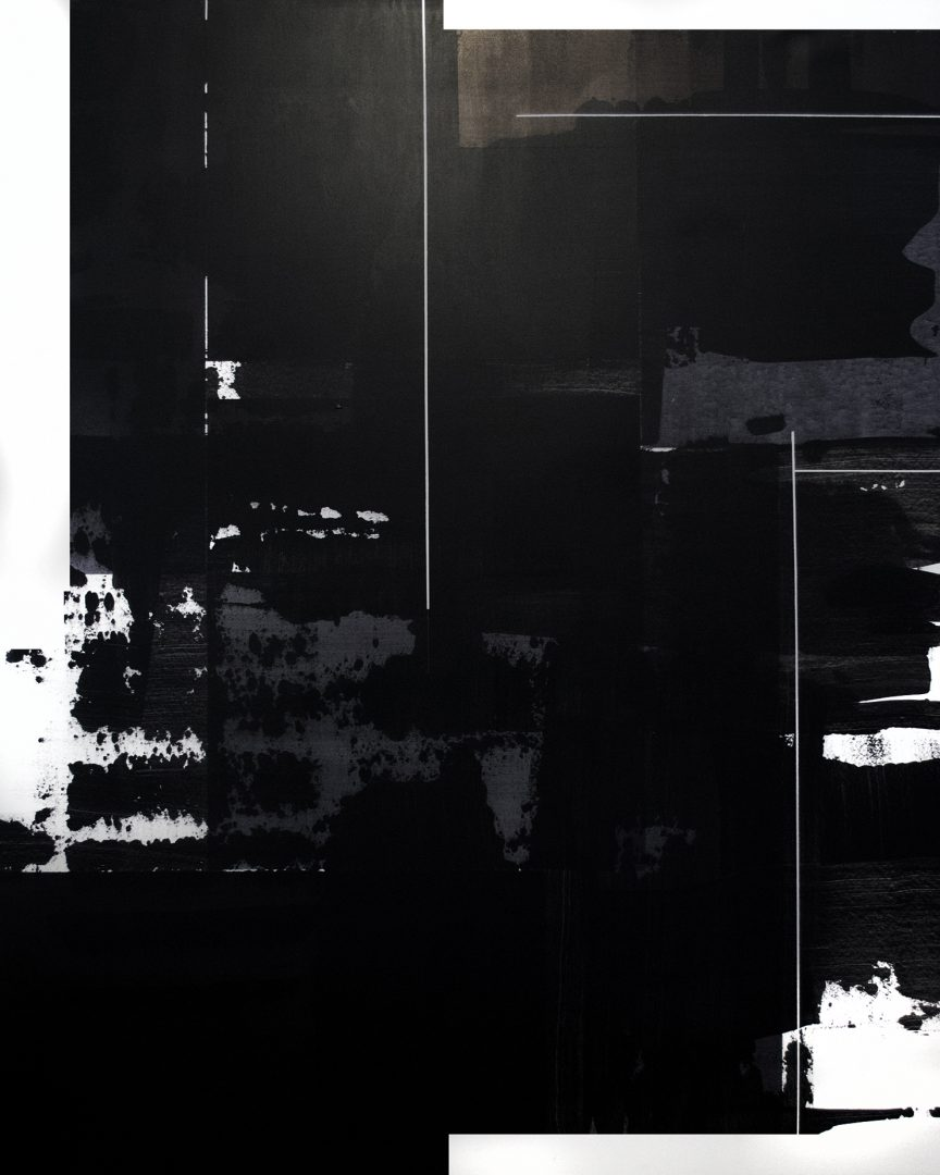 Op. 200118. acrylic on canvas, 160 x 130 cm, 2018
