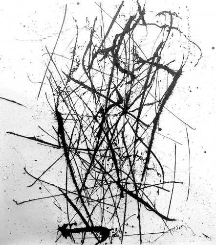Op. 37. 150x170 cm, ink on paper